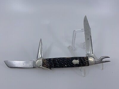 NEW YORK KNIFE CO WALDEN CAMPER UTILITY KNIFE 4 3/4""