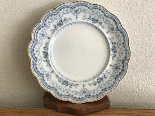 FLOW BLUE JOHNSON BROs ENGLAND DOROTHY SALAD/ DESSERT PLATE Free Shipping