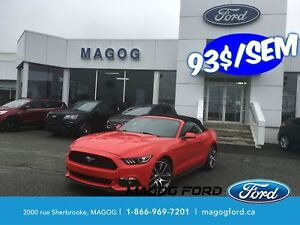 2015 Ford Mustang EcoBoost Premium*IMPECCABLE*GPS*CUIR*CONVERTIB