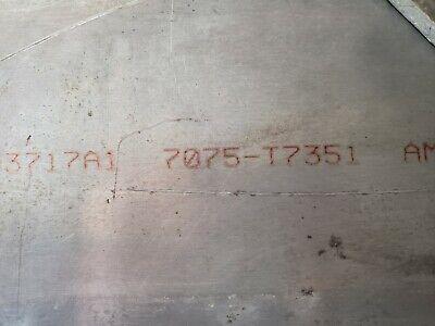 Aluminum 7075 T7351 Plate .5 X 24 X 24