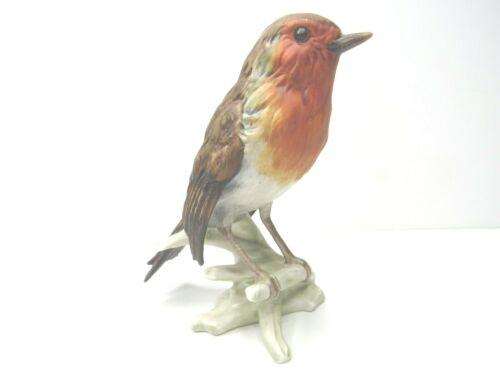 """Vintage Goebel Robin Figurine CV100 West Germany Label 5"""" Bird Figure Collection"""