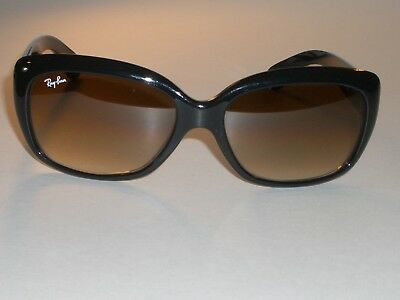Mujer Ray Ban Rb4101jackie-ohh Negro Brillante Top Marrón Degradado Gafas de Sol segunda mano  Embacar hacia Spain