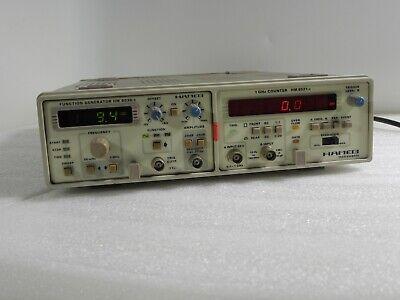 Hameg Hm8001-2 Dual Mainframe Hm 8030-5 Function Generator Hm 8021-2 Counter