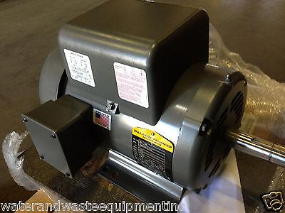 NEW BALDOR 5 HP 1 PH AIR COMP ELECT MOTOR 184T 230V SAME AS L1430T 36M926T077G2