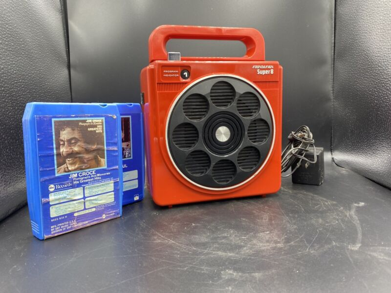 Vintage Soundesign Super 8- Model 4012B 8-track player -Clean & Plays excellent