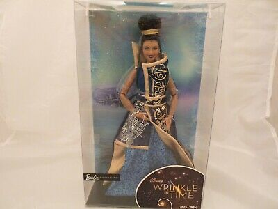 2017 Disney A Wrinkle in Time Mrs. Who Barbie Signature Doll - MIB NRFB !