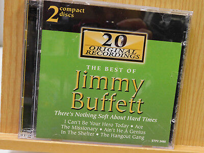 The Best of Jimmy Buffett 2 CD Set Release 2000 Rock