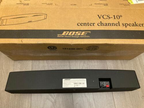 Bose VCS-10 Center Channel Speaker(Black) Fast ship