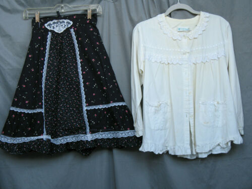 Western Girls Costume Prairie Dress Victorian Edwardian Civil War Reenactment