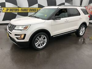 2016 Ford Explorer XLT, Navigation, Leather, Panoramic Sunroof,