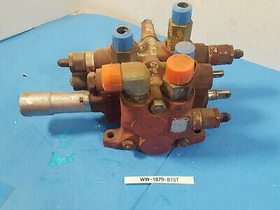 Kayaba 21020-40044 Heavy Equiptment Hydraulic Valve Manifold Used