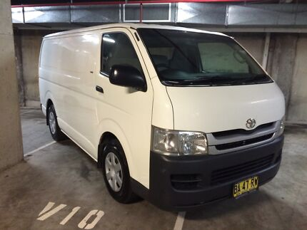 2008 Toyota Hiace 3.0L Turbo Diesel Automatic 10 Months Registration Chatswood Willoughby Area Preview