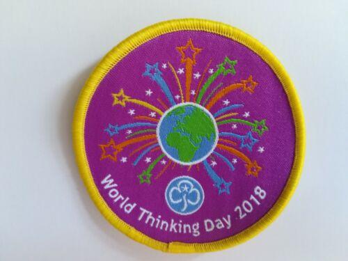 Girl Guides Girlguiding World Thinking Day 2018 Badge