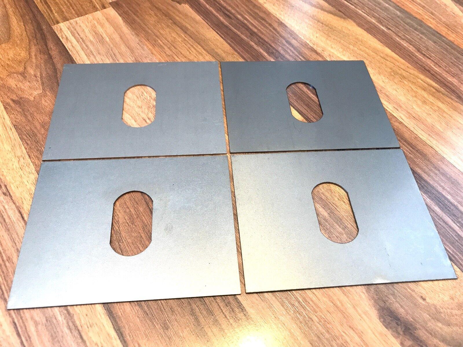 f/ür 5er E39 Aufnahme Hebeb/ühne Wagenheberaufnahme 2x Schwei/ßblech 130x100x15mm