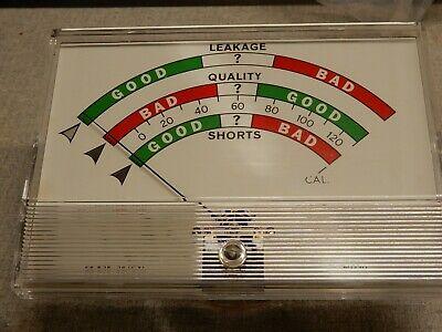 Sencore Tc131 Tc-131 Tube Tester Meter In Mint Condition