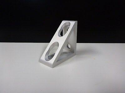 8020 Inc Equivalent Aluminum 4 Hole Inside Corner Gusset 15 Series Pn 4336 New