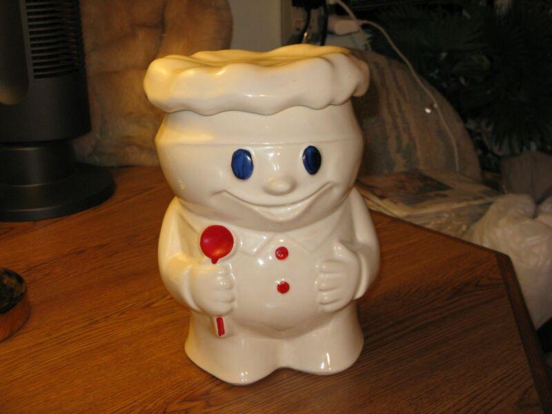 VINTAGE BOBBY THE BAKER  PILLSBURY DOUGH BOY McCOY ART POTTERY COOKIE JAR