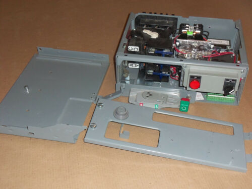 "NEW SQUARE D MODEL 6 SIZE 1 STARTER 60 AMP 240V FUSIBLE 6"" HALF MCC MCCB BUCKET"