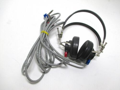 Madsen TDH-39 Audiometer Hearing Screening Headset Headphone earcup 39P