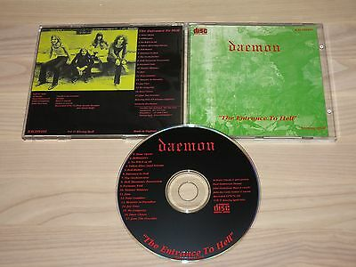 DEMONIO CD - THE ENTRADA TO HELL / BESOS SPELL in MINT