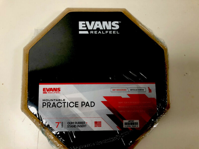 Evans RealFeel Apprentice Practice Pad 7 in. UPC 019954952303