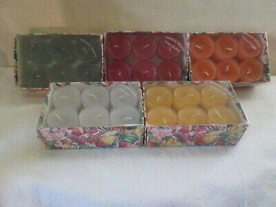 12 Pack VTG Oringinal Recipe (LILAC) Tea Lights, USA