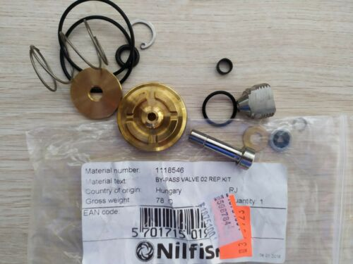 Nilfisk: 1118546: BY-PASS VALVE 02 REP.KIT