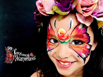 Face Painter and Balloon Twister - Fantasy Metamorfaces