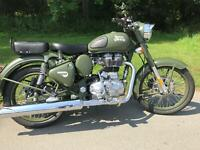 Royal Enfield Bullet Classic Battle Green *** Special Offer****