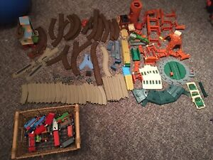 Thomas the train..multiple sets and trains