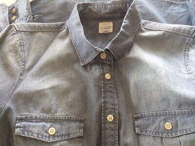 J Crew Ladies Denim Shirt Small