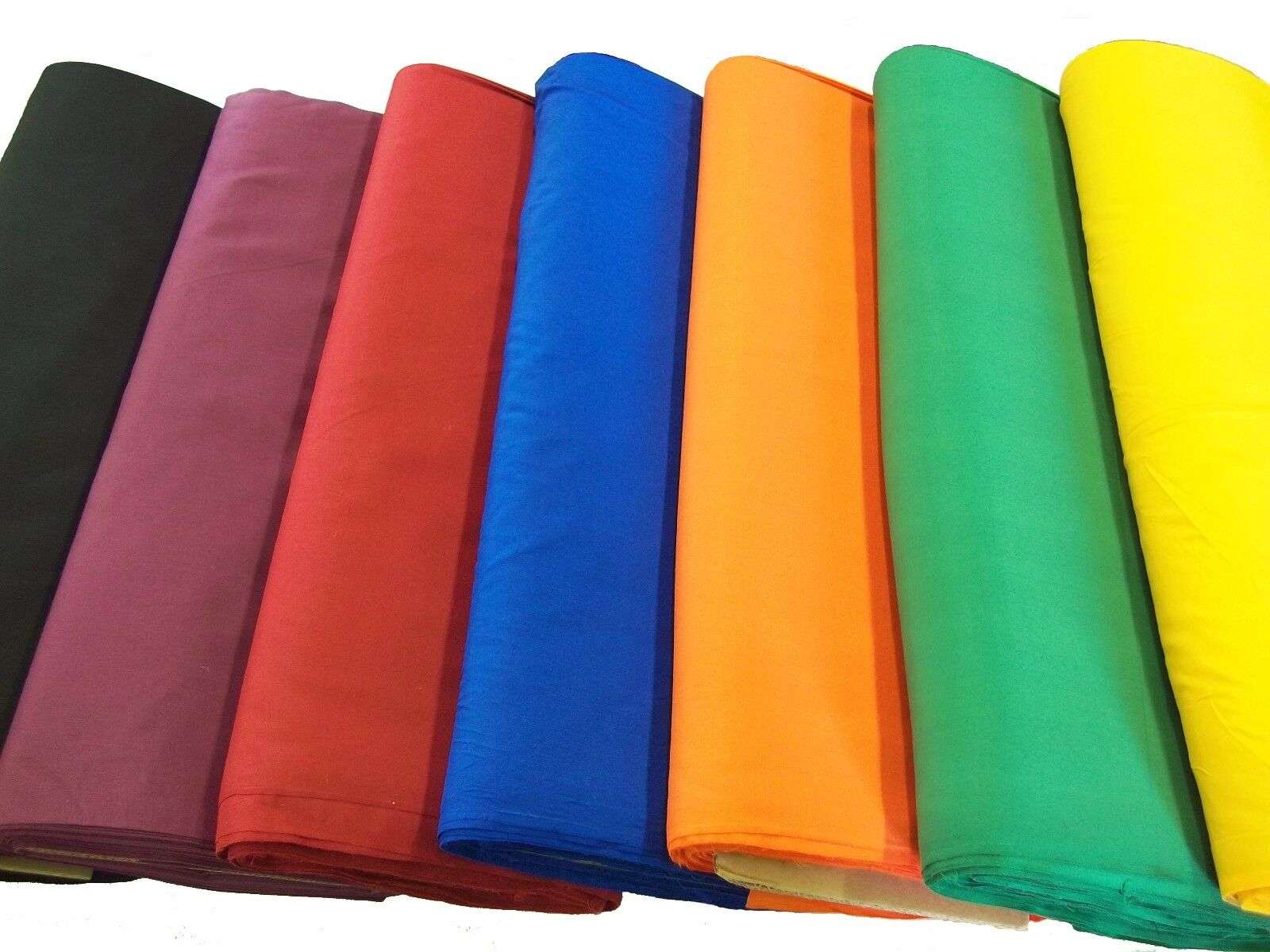 broadcloth fabric 45 cotton polyester blend sold