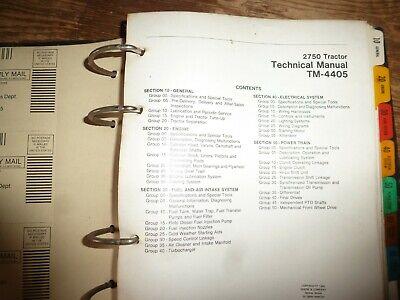 John Deere 2750 Tractor Shop Service Repair Technical Manual Original Tm-4405