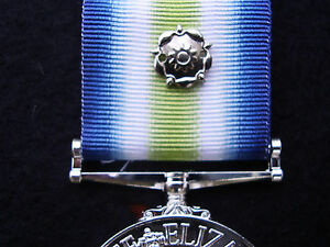 BRITISH-ARMY-GUARDS-PARA-RAF-RN-RM-SBS-FALKLANDS-WAR-1982-MEDAL-RIBBON-ROSETTE