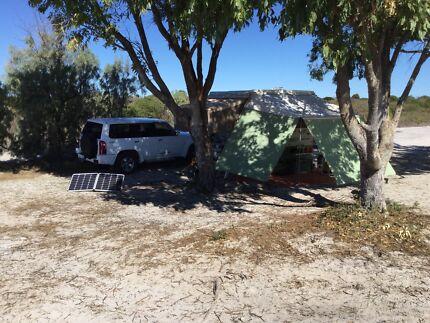 Jayco Dove camper off-road