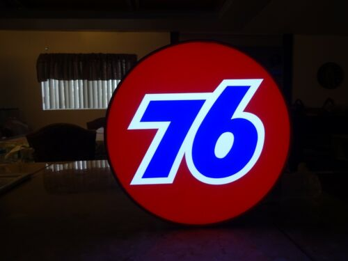 Union 76 Mini Lighted Sign