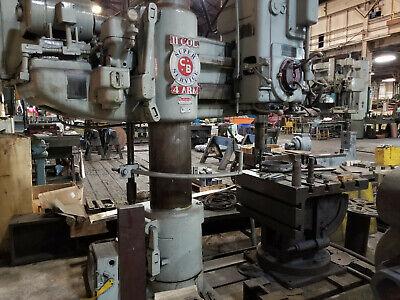 Cincinnati Bickford Radial Arm Drill Press 11 Col. 4ft Arm Super Service
