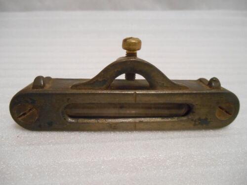 S.J. Sherman Pocket Level Vtg Patent 1853 Line String Bubble Machinist Tool USA