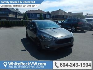 2016 Ford Focus SE No Accidents, BC Driven, Rear View Camera...
