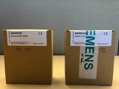 Siemens 6es7340-1ah02-0ae0 Simatic Cp 340 Communication Processor Module New