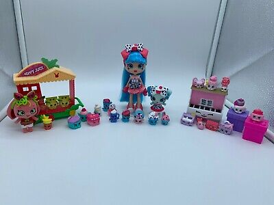 Shopkins Shoppies and Shoppets play sets LOT! Wild style series