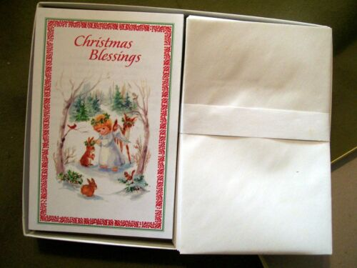 Vintage Guideposts Greetings Christmas Blessings 25 Cards & Envelopes