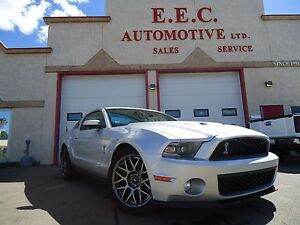 2011 Ford Mustang Shelby GT500 6-Speed Manual, LOW KM, LOADED