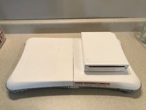 Nintendo Wii and Balance Board