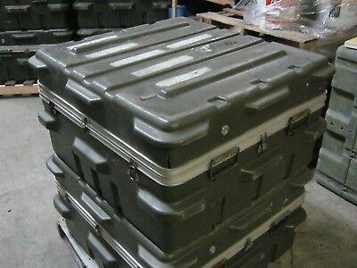 Thermodyne Shock Stop 38x36x20 Single Lid Hard Plastic Shipping Storage Case W D