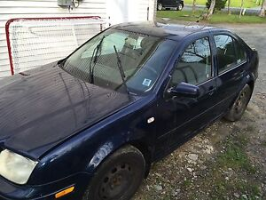 2002 Volkswagon Jetta 1.9t TDI Auto Part Out