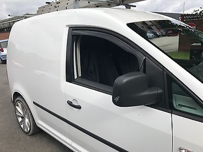 SNED VW19 Wind Deflectors Smoked Finish Volkswagen Caddy Van 2004> New