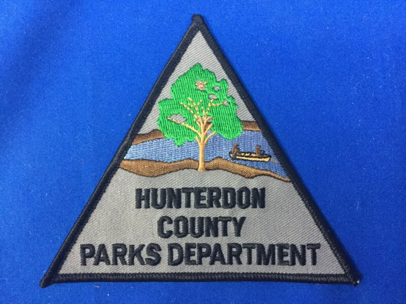 Hunterdon County Parks Department Patch FREE SHIPPING