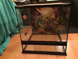 Zoomed Front Opening Reptile Enclosure $80 OBO