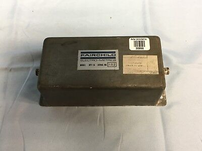 Fairchild Electro-metrics Hpf-10 Bncf To Bncf